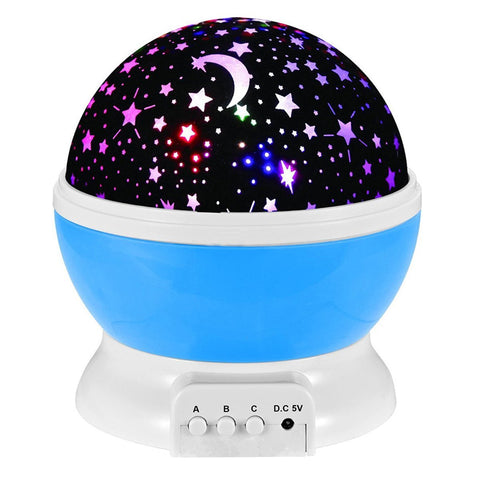 Night Light Projection Lamp Blue