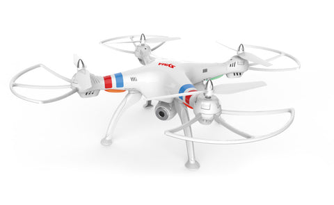 X8W 2.4Ghz 4CH RC Headless FPV Quadcopter with Wifi Camera (White)