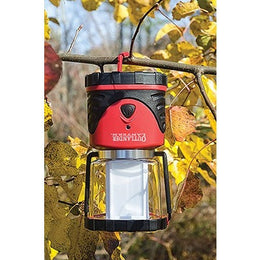 The Outander Led Lantern - 3 Panel Technology, Red or Blue