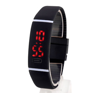 Rubber LED Digital Sports Watch - Unisex