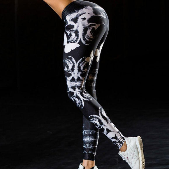 Butterfly 3D Printed Yoga Pants - Leggings