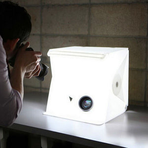 Mini Lightbox Photo Studio Photography Kit