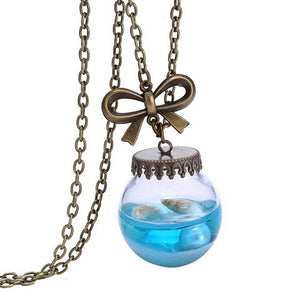 Mermaid Tears Pendant Necklace