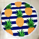 Large Microfiber Round Beach Towels