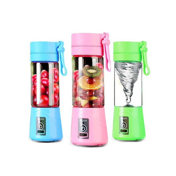 380ml Portable Juicer With Rechargeable Battery