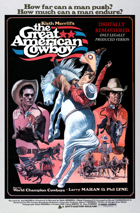 The Great American Cowboy Poster - 1