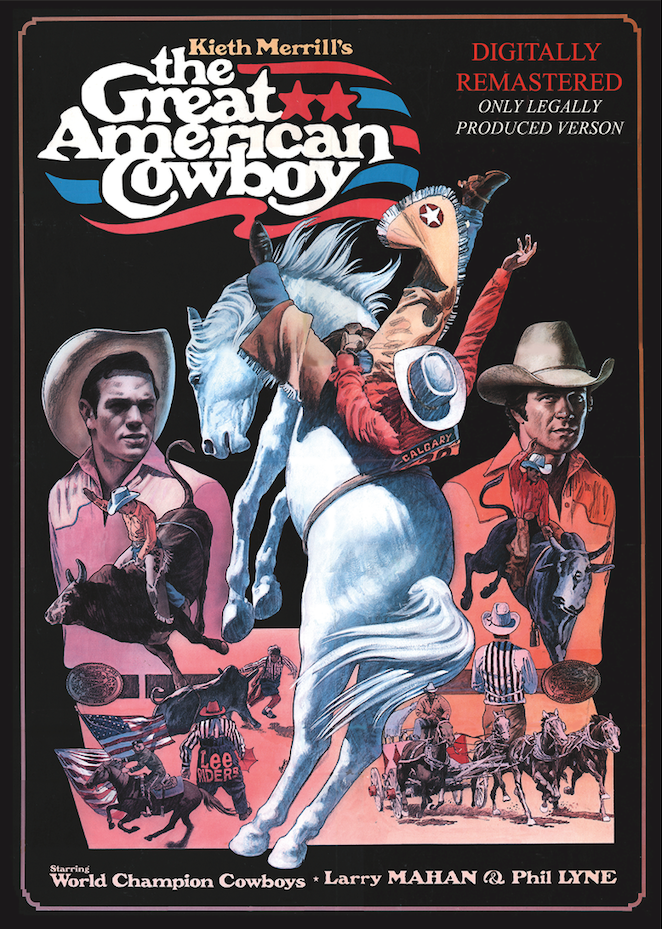 The Great American Cowboy - DVD