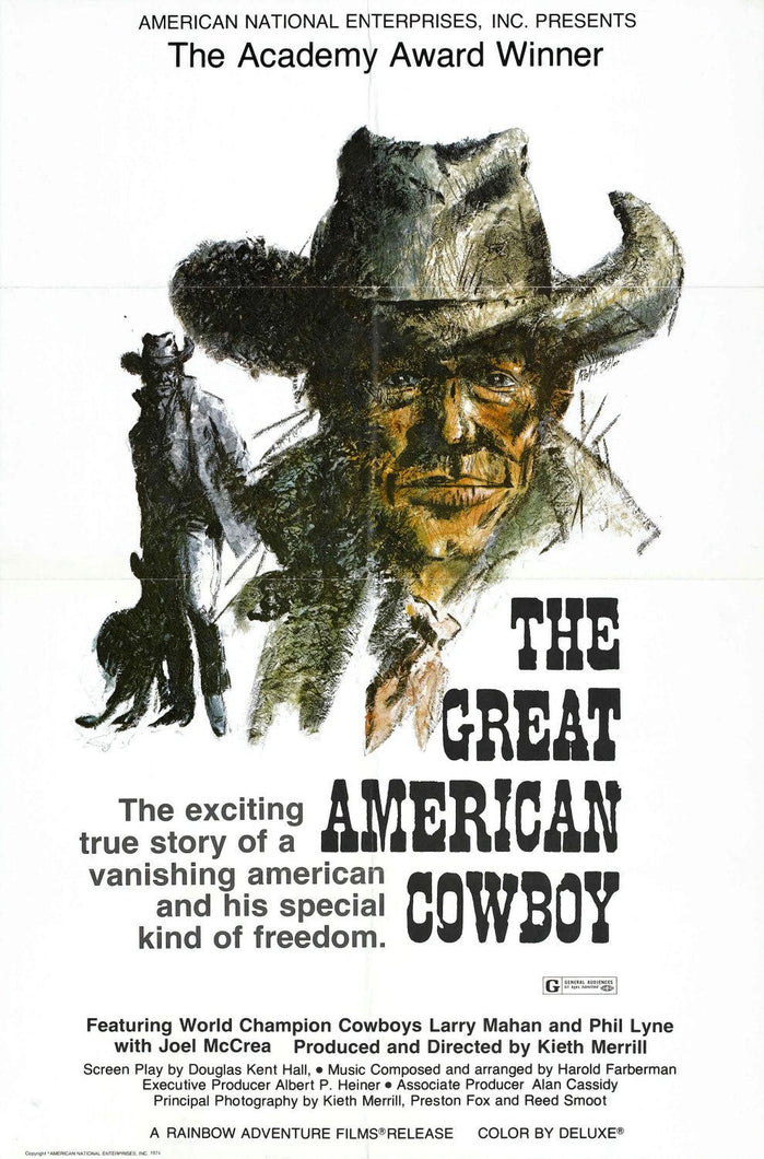 The Great American Cowboy Movie Poster - 2