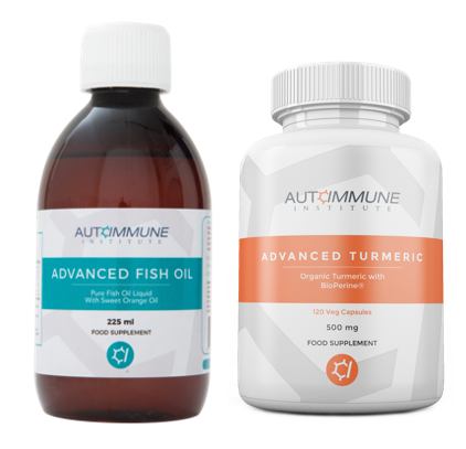 Advanced Turmeric and Advanced Fish Oil With A 90 Day Guarantee