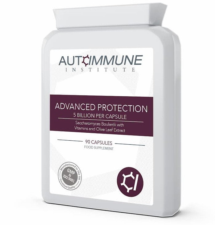 Advanced Protection - High Strength Saccharomyces Boulardii Supplement (5 Billion CFU Per Capsule)