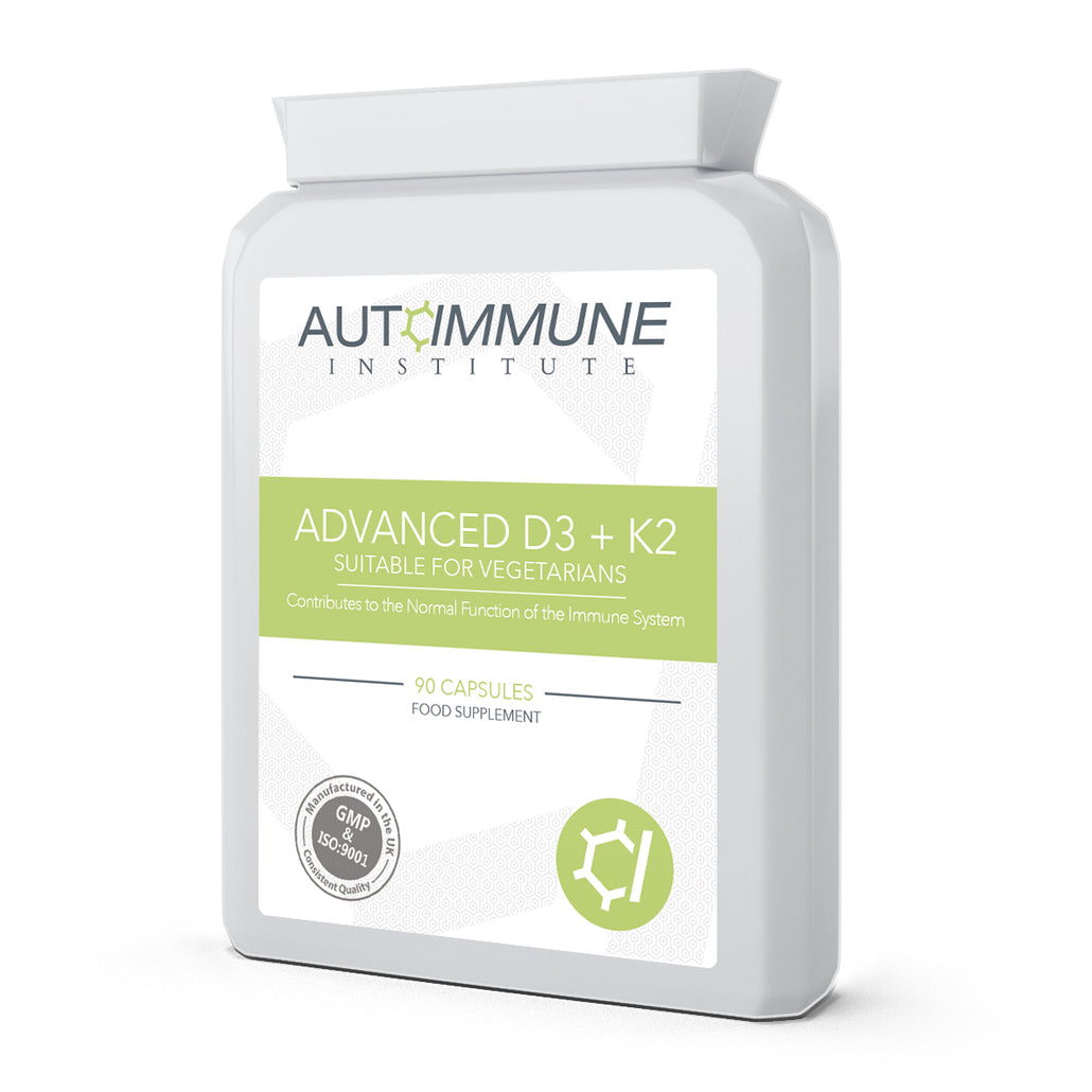 Advanced D3 + K2 - Vitamin D3 & K2 Supplement in 1 Capsule
