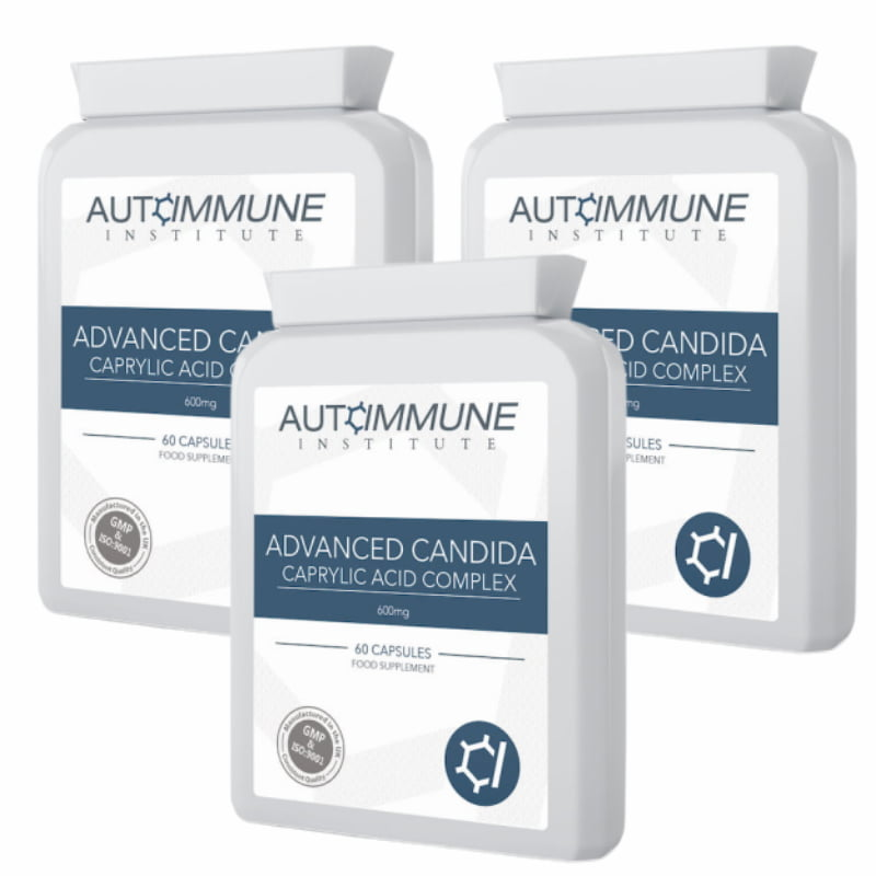 Candida / Yeast Support Supplement Triple Pack