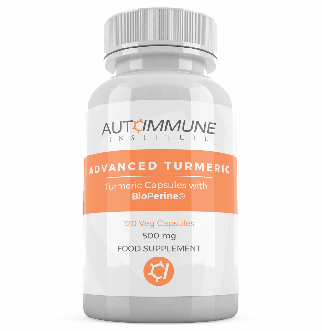 Advanced Turmeric - Organic Turmeric / Curcumin with Bioperine (Black Pepper)