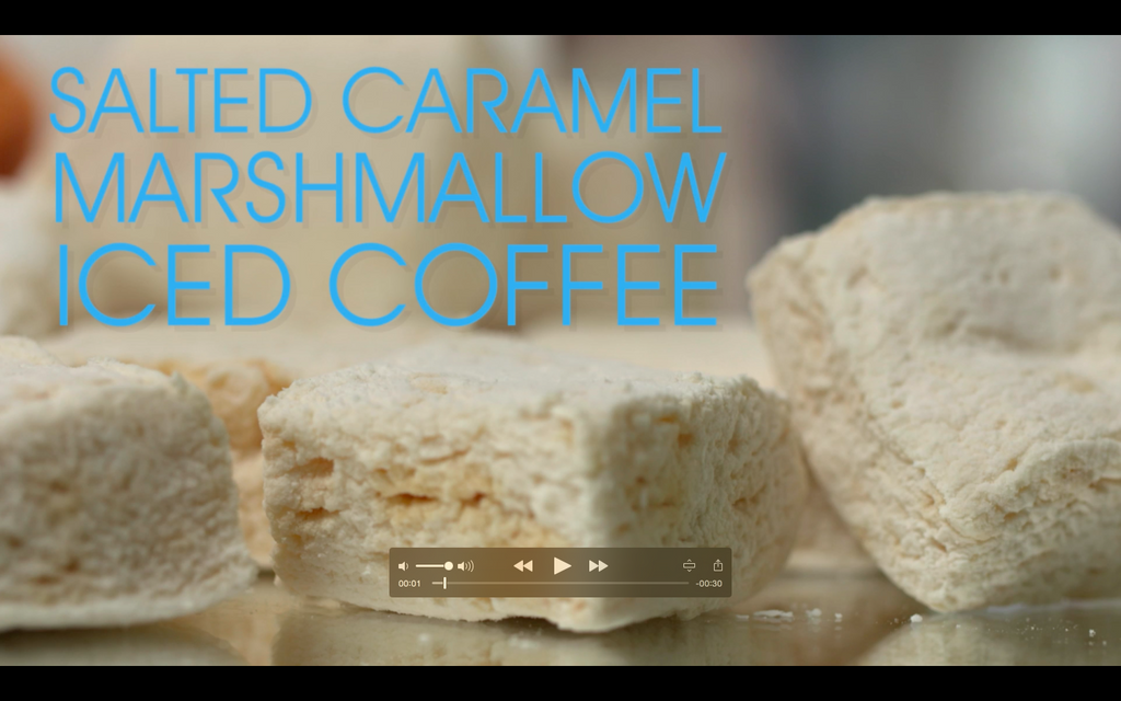 Salted Caramel Marshmallow Iced Coffee Recipe