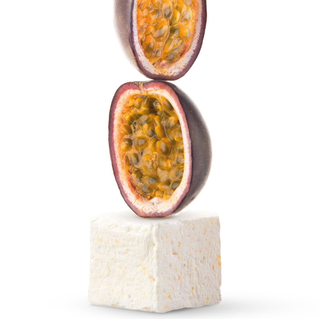 Gourmet passion fruit marshmallow gluten free