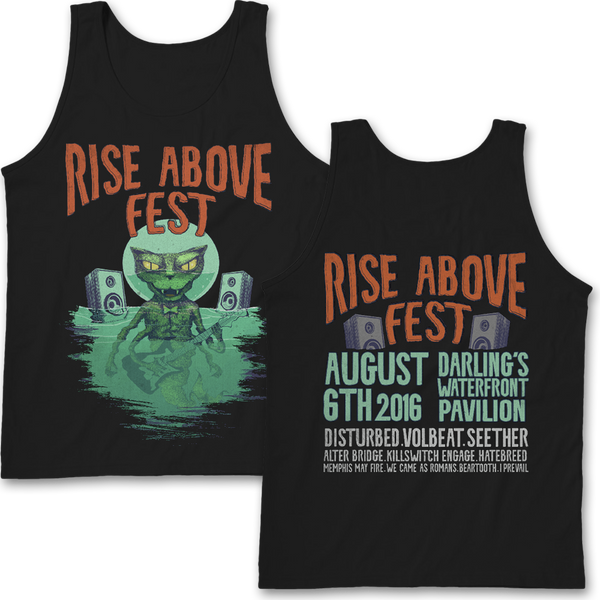 2016 Rise Above Fest Tank Top