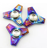Titanium Alloy Bright Color EDC Fidget Toy Hand Spinner