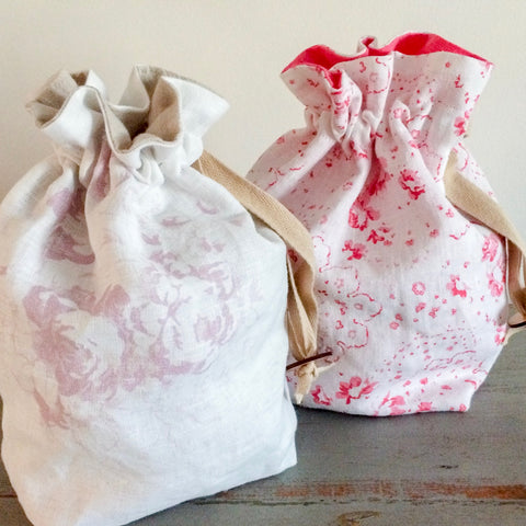 Cabbages and Roses Bag