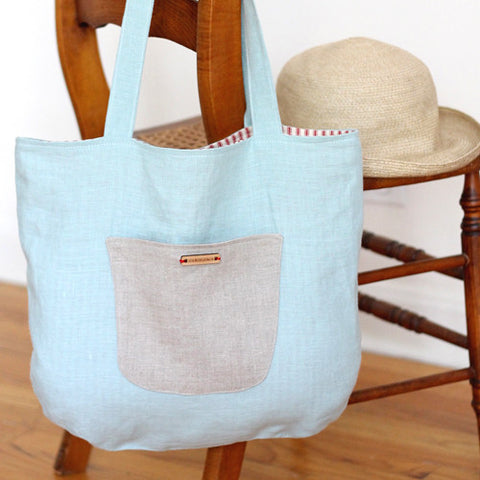 The Cornwall Linen Tote
