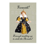 Queen Elizabeth I Tea Towel