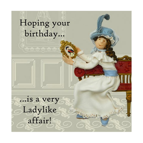 Fair Lady Birthday Card