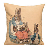 Peter Rabbit Tapestry Pillow Cover - Flopsy Bunnies