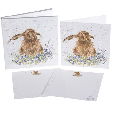 Hare Bells Notecard Set