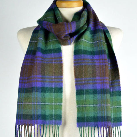 Scottish Lambswool Scarf - Isle Of Skye Tartan