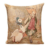 Jemima Puddle-Duck Tapestry Pillow Cover