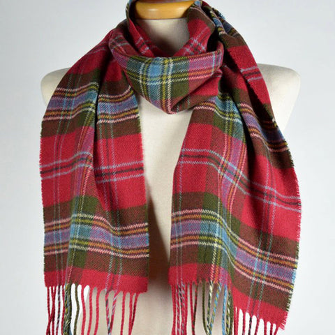 Scottish Lambswool Scarf - Maclean of Duarte Weathered