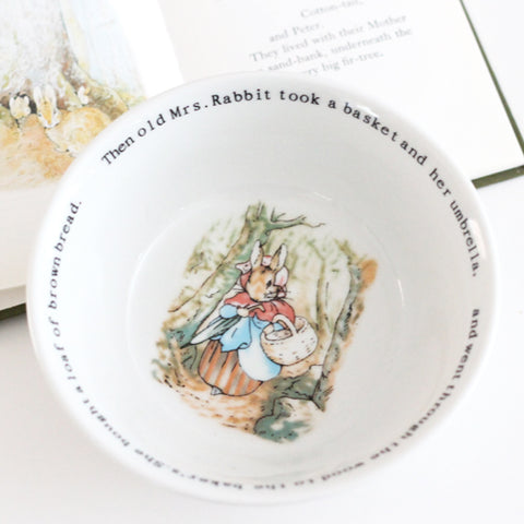 Mrs. Rabbit Wedgwood Bowl