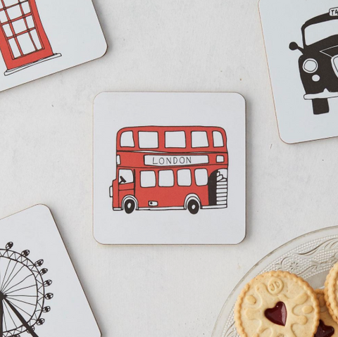 London Icons Coaster Set/4