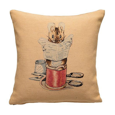 Tailor Of Gloucester Tapestry Pillow Cover