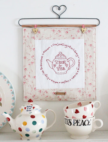 Tea Time Stitchery