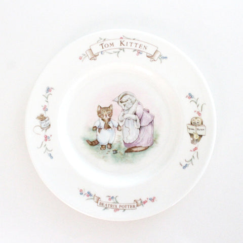 Tom Kitten Royal Albert Plate