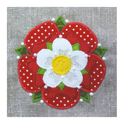Tudor Rose Card