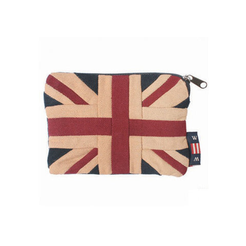 Union Jack Zip Pouch