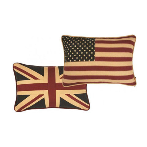 Union and United Reversible Pillow