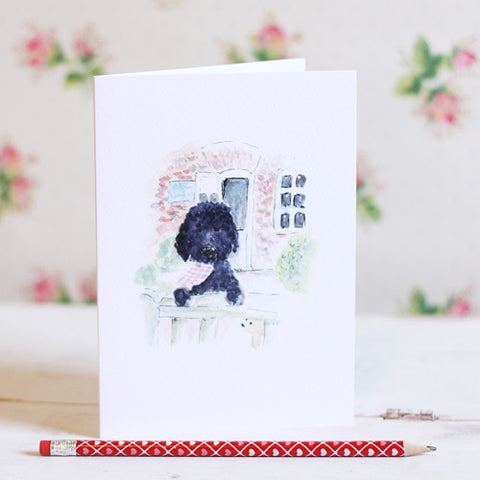 Bert The Dog Card