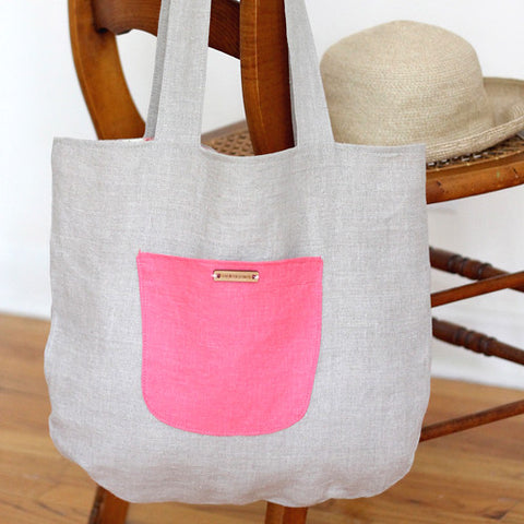 The Cotswolds Linen Tote