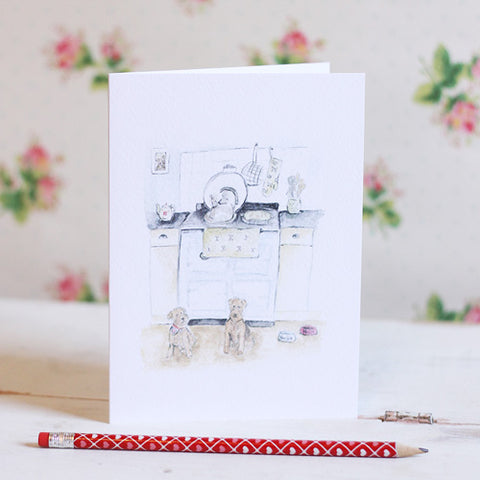 English Country Kitchen Card