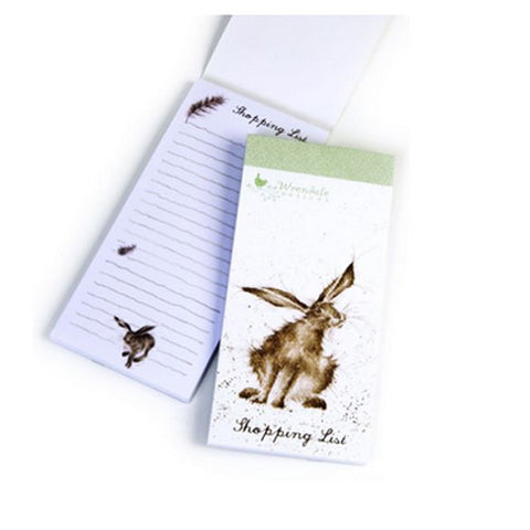 All Ears Hare Shopping List Pad