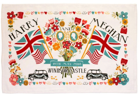 PRE-ORDER Royal Wedding Tea Towel