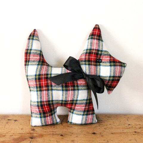 Scottie Dog Cushion - Mackenzie