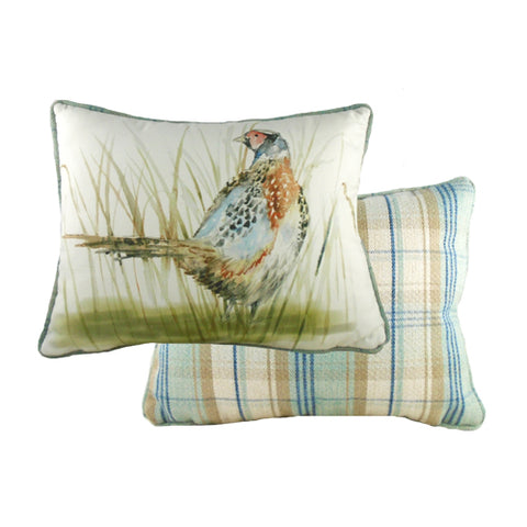 Country Pheasant Pillow Cover