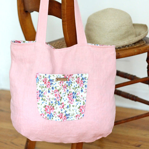 The Sussex Linen Tote