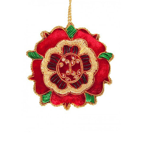 Tudor Rose Ornament