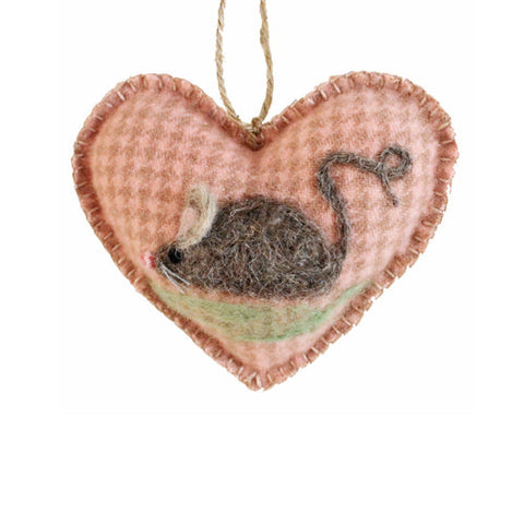 Maisie Mouse Wool HeART