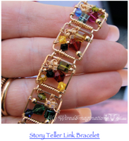 Girl Scout Knot in Wire, Jewelry Component Tutorial