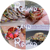 Round and Round, 4 Tutorials Discount Package, Wire Wrap Earrings, Bracelets, and Rings